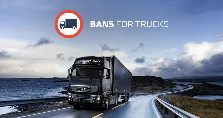 Zakazy ruchu ciężarówek w czerwcu 2019 r. Ograniczenia w związku z Bożym Ciałem i Zielonymi Świątkami - Zakazy