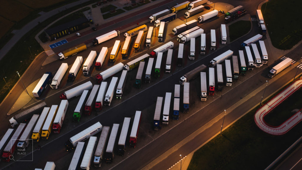 Free parking lots for trucks in the Benelux region: Belgium, the Netherlands, and Luxembourg